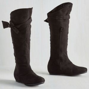 Modcloth Collecting My Knots Boots in Licorice 8